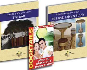 Tiki Bar and Tiki Bar Table and Stools Ebook