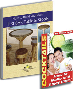 Tiki Bar Table and Stools Ebook