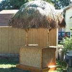 4' x 6' Bamboo Tiki Bar