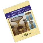 Build Your Own Tiki Bar Table and Stools Book