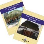 Build Your Own Tiki Bar + Tiki Hut Book Combo