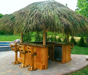 outdoor bars for sale Tiki Bar   Red Cedar Tiki Bar   Custom Tiki Bars For Sale outdoor bars for sale