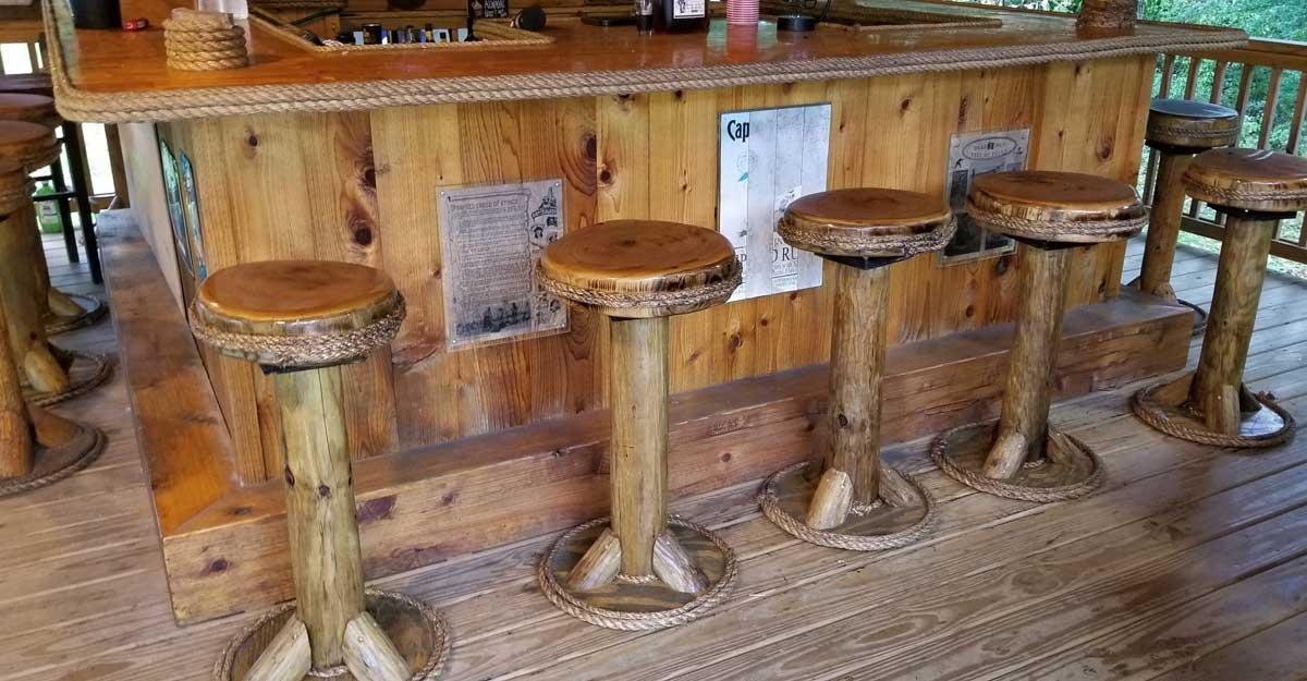 Bar Stools Tiv, Outdoor Tiki Bar Chairs